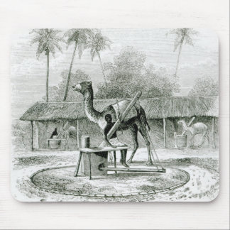 Camel Mill, from 'Travels in Africa' Mouse Pad