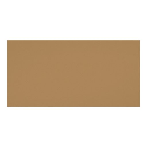 Camel Neutral Taupe Color Trend Blank Template Photo Card