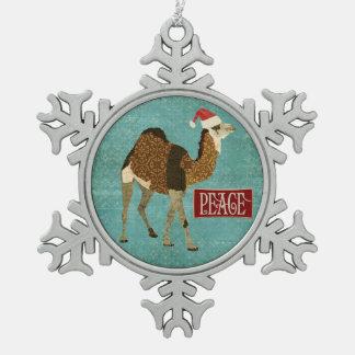 Camel Peace Ornament