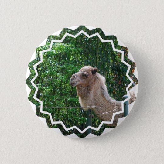 Camel Photo Design Button