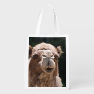 Camel Reusable Grocery Bag