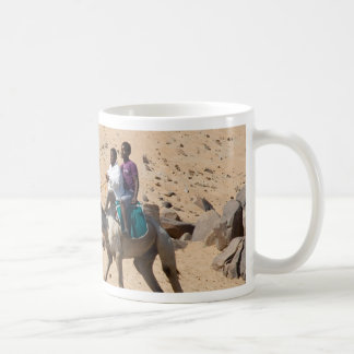 Camel Rider Basic White Mug