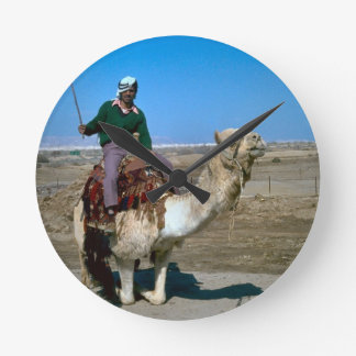 Camel rides at he Dead Sea Round Clock