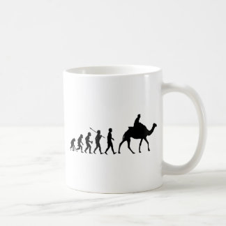 Camel Riding Basic White Mug