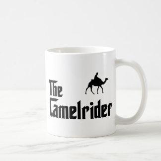 Camel Riding Classic White Coffee Mug