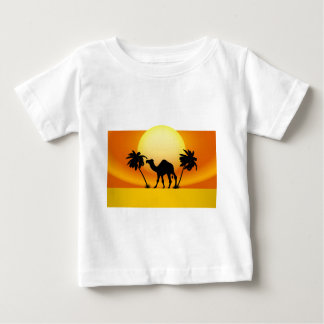 Camel silhouette baby T-Shirt