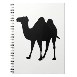 Camel Silhouette Notebook
