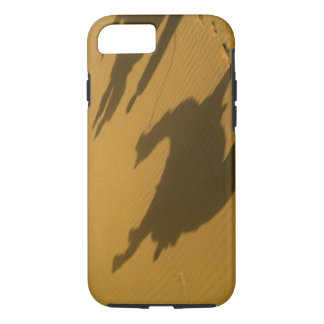 Camel silhouettes on sand dunes, Thar Desert, iPhone 8/7 Case