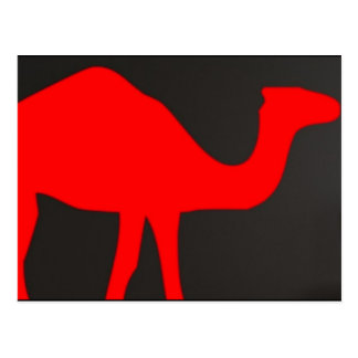 CAMEL SILOUETTE POST CARDS