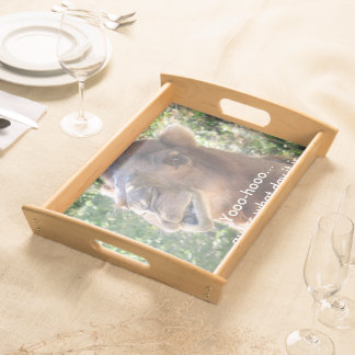 Camel speaks serving tray