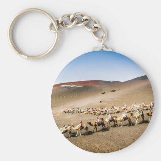 Camel Train in Lanzarote Key Ring