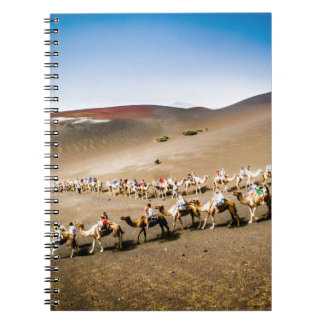 Camel Train in Lanzarote Notebook