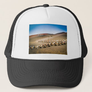 Camel Train in Lanzarote Trucker Hat