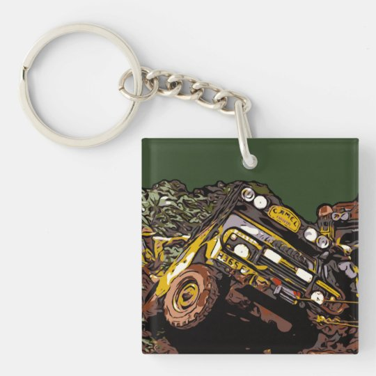CAMEL TROPHY KEY RING