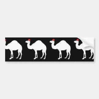 Camel Wearing A Fez Bumper Sticker