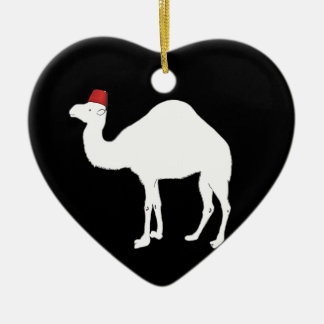 Camel Wearing A Fez Christmas Ornament