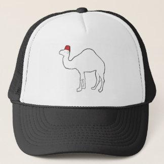 Camel Wearing A Fez Trucker Hat