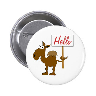 Camel With Sign Button