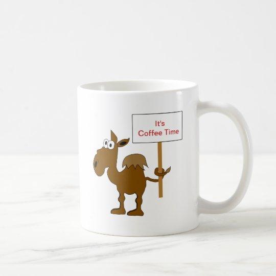 Camel With Sign Mug Template