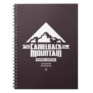 Camelback Mountain (Dark) - Notebook