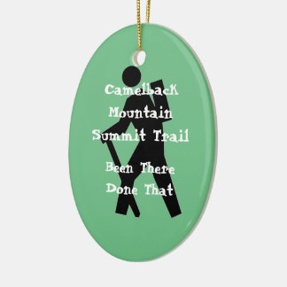 Camelback Mountain Summit Trail Christmas Ornament