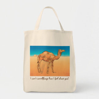 Camelflouge Tote Bag