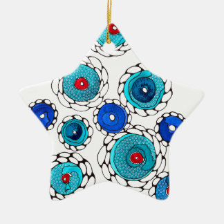 camelias christmas ornament
