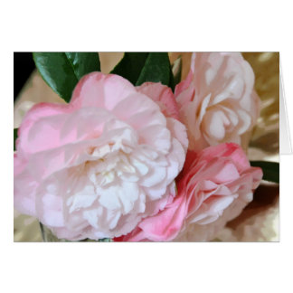 Camellia Flower Card
