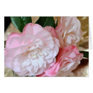Camellia Flowers Card