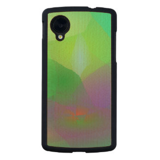 Camellia Green Haze Carved® Maple Nexus 5 Case
