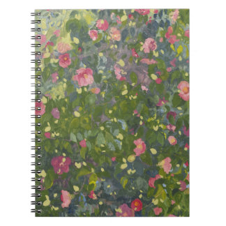 Camellia in Flower 2014 Spiral Note Book