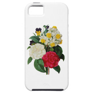 Camellia, Narcissus and pansy Bouquet by Redoute iPhone 5 Covers