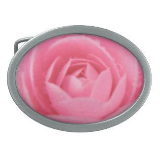 Camellia Pink Belt Buckle