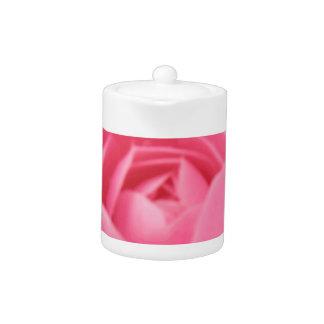Camellia Pink Teapot