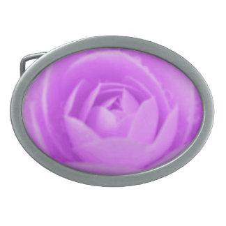 Camellia Purple Belt Buckle