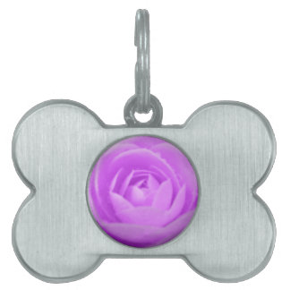 Camellia Purple Pet Tag