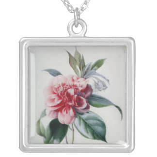 Camellia Silver Plated Necklace