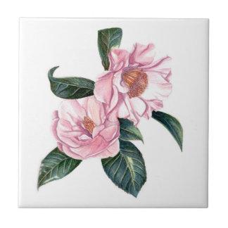 camellias tile