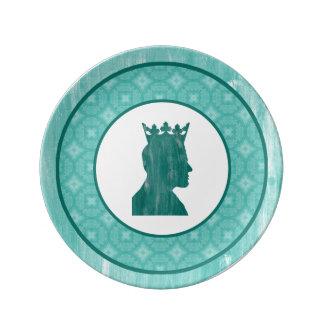 Camelot: King Porcelain Plate
