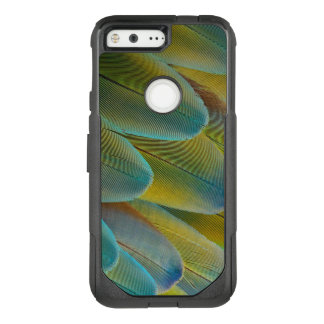 Camelot Macaw Feather Design OtterBox Commuter Google Pixel Case