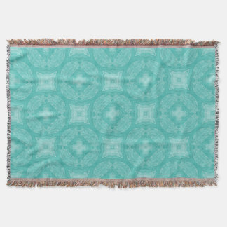 Camelot: Tapestry Blue Throw Blanket