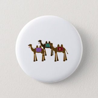 Camels 6 Cm Round Badge