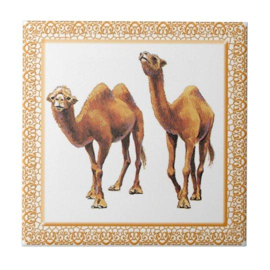 Camels A-Go-Go Tile