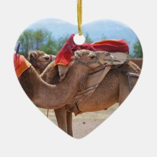 Camels Christmas Ornament