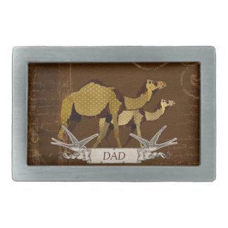 Camels Dad Belt Buckle