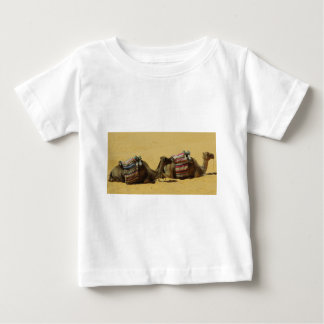 Camels in the desert baby T-Shirt