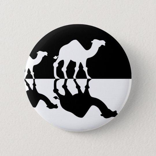 camels.jpg 6 cm round badge