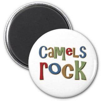 Camels Rock 6 Cm Round Magnet