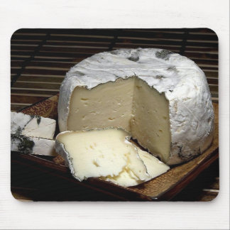 CAMEMBERT CHEESE FOR CHEESE LOVERS,  MOUSE PAD