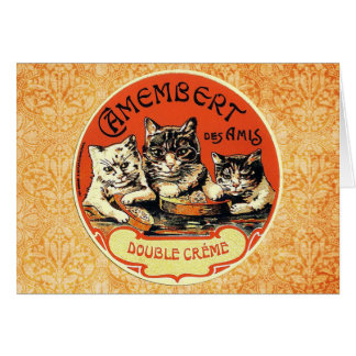 Camembert des Amis (Friends) Card